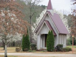 Minature Church Building