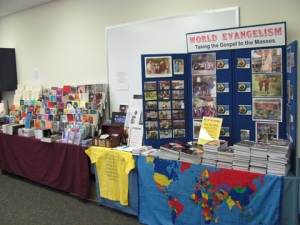 Lectureship Display