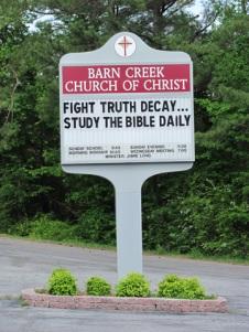 Barn Creek Church of Christ