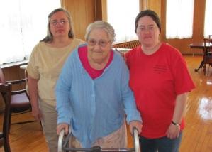 Bonnie Rushmore, Mary Reed & Rebecca Rushmore