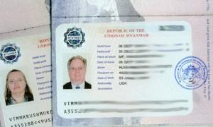 Myanmar Visa 2011