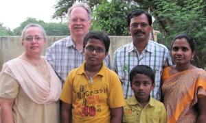 Bonnie, Louis, Rittu, Vijay, Ricky, Elizabeth
