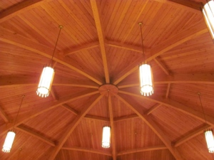 Ceiling Vincennes Auditorium
