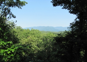 Cabin View of the Smoky Mountains