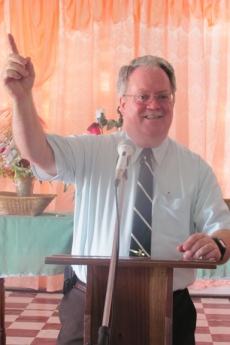 Preaching Recently in Guyana, South America