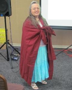 Bonnie as Queen Esther