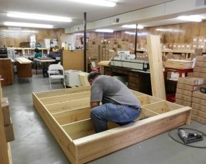 Alan Barham Building Bookcases