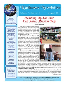 Rushmore Newsletter