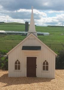 Miniature Church Building