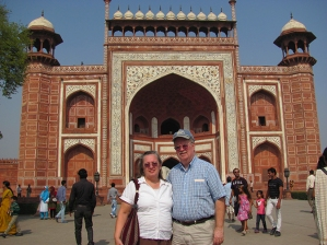 Inside the Taj Mahal Compound