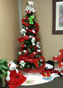Oncology Radiation Christmas Tree