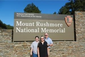Rebecca, Bonnie & Louis Rushmore