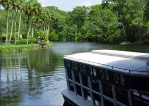 Glass-Bottom Boat at Silver Springs, FL