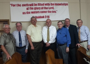 Director & Speakers of the Mission Lectureship