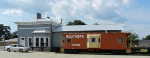 Train Station in Piedmont, AL