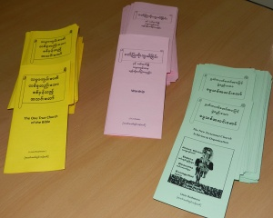 Tracts in Burmese