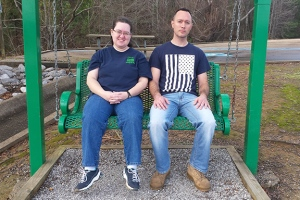 Rebecca & Raymond at Grenada Lake (MS)